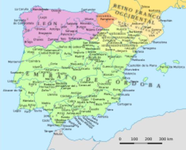 Aparece el Condado independiente de Castilla.