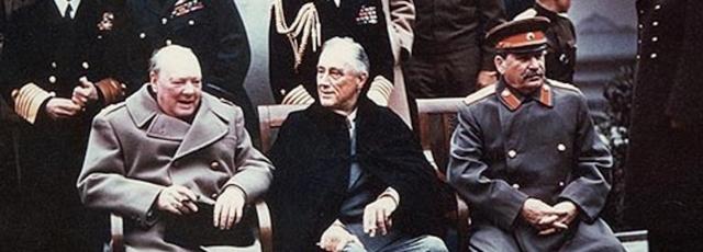 Conférence de Yalta le 4 février 1945