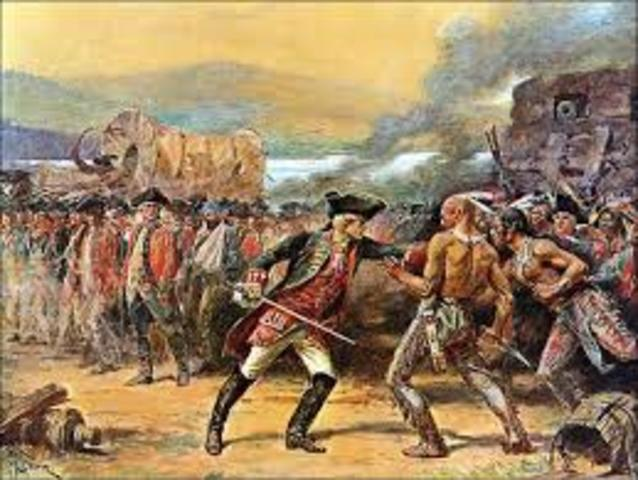 End of the French and Indian War (a.k.a. The 7 years war)