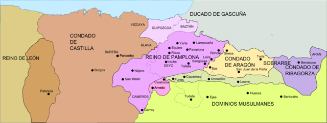 Se forma el condado de Aragón.