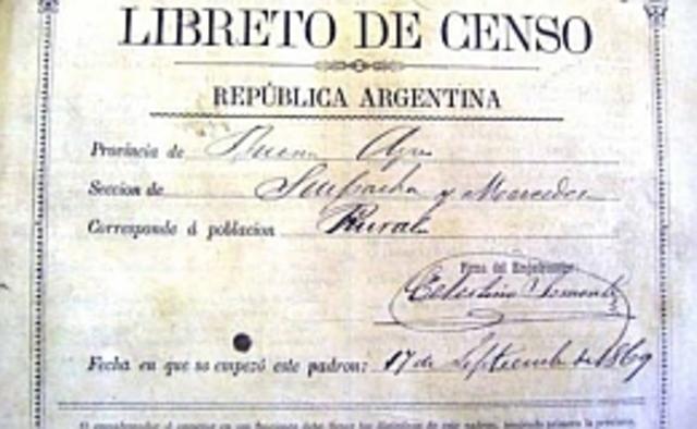 Primer censo Nacional