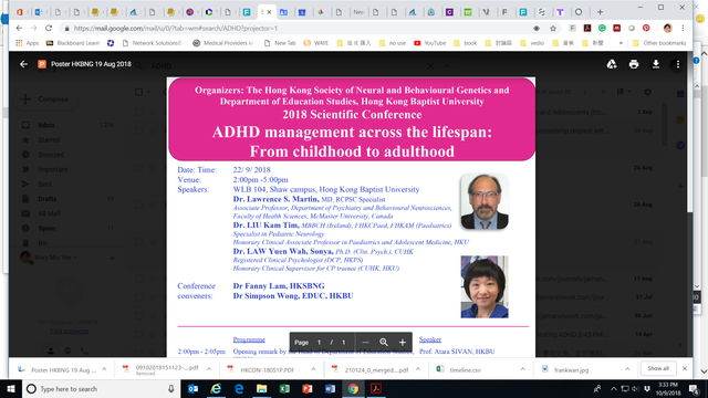 Half day symposium Janssen at HKBU