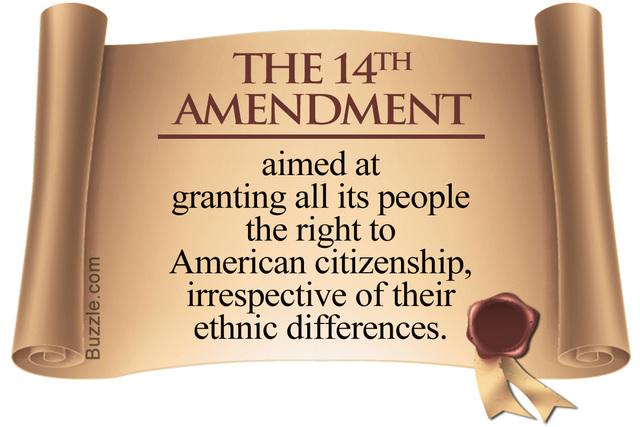 The 14th Amendment .