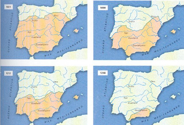 Fin de la península de Al-Andalus