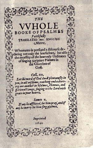 печатник Стивен Дей возглавил первую типографию в Америке