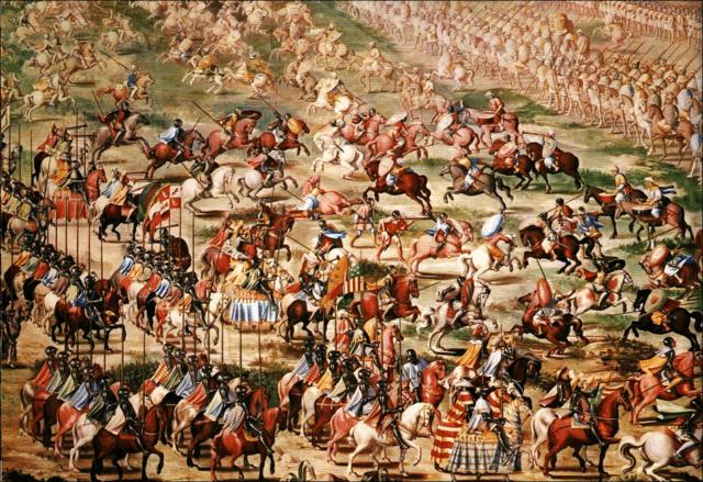 LLegada de los benimerines a Al-Ándalus para frenar avances de los reinos cristianos.