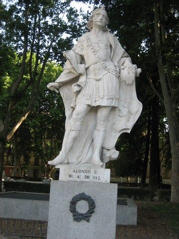 Alfonso III inicia la expansión hasta el Duero.