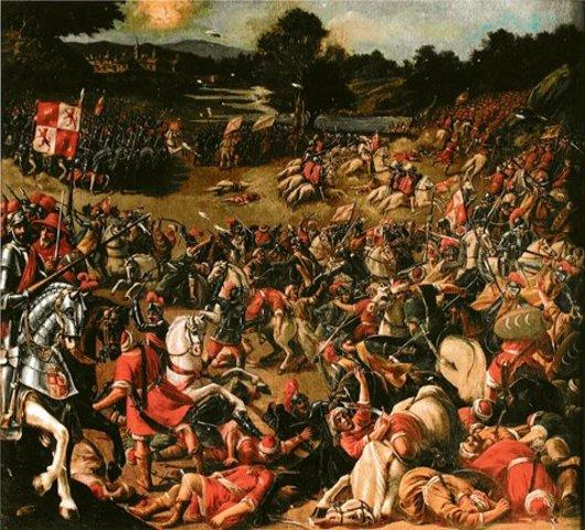 Batalla del Salado (dominio desembocadura del Guadalquivir para evitar las llegadas de invasiones de pueblos del Norte de África)