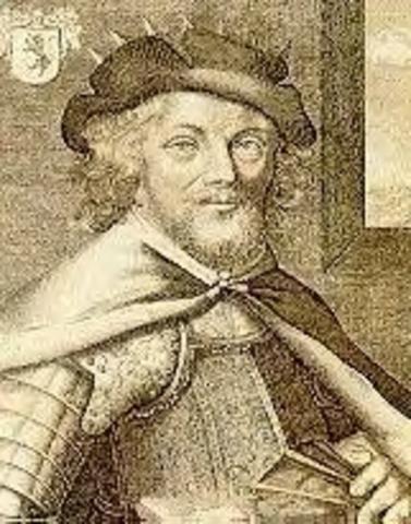 Jean Bethencourt inicia la conquista de las Islas Canarias