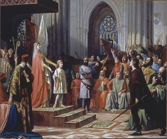 Celebración de las primeras Cortes de León.