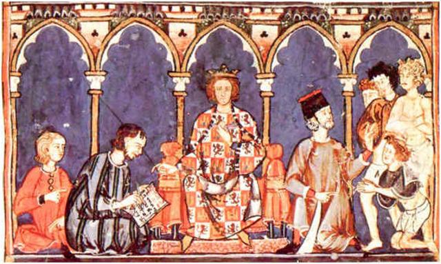 """Alfonso X """"el sabio"""" funda el honrado Concejo de la Mesta."""