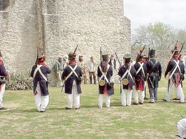 Solders at Goliad