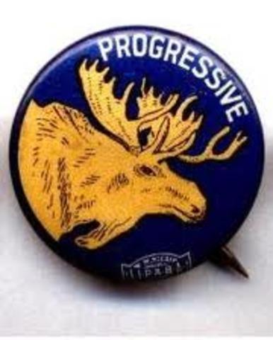 The Progressive/Bull Moose Party Forms Splits Republican Vote in Election of 1912