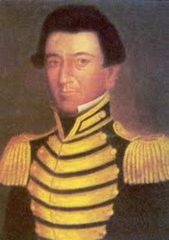 Juan Sequin led a band of 25 tejanos.