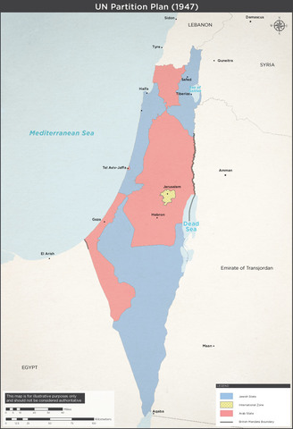 UN divides Palestine into two nations