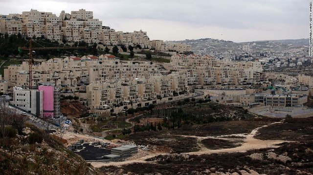 Israeli Settlements started to appear