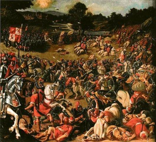 Batalla del Salado(dominio desembocadura del Guadalquivir para evitar la llega de invasiones de pueblos del Norte de África)