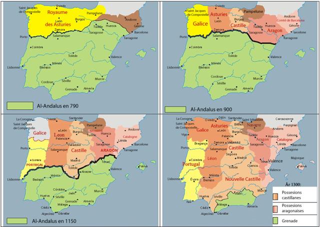 Llegada de los benimerines a Al-Ándalus para frenar avance reinos cristianos