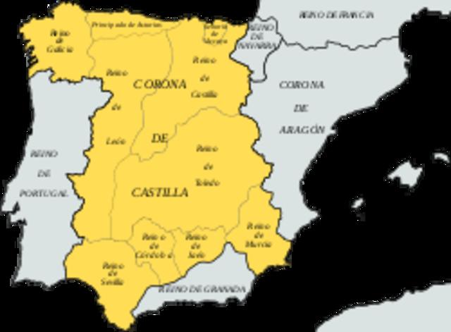 1230. Unión de los reinos de Castilla y León en la fIgura de Fernando III.