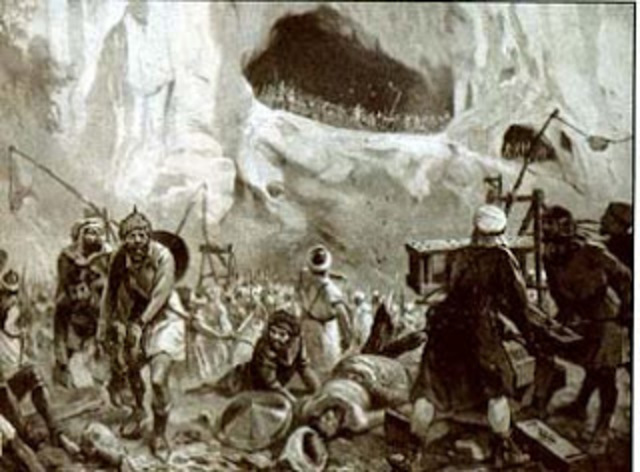722. Batalla de Covadonga y fundación del reino Astur.