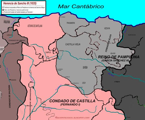 932. Aparece el Condado independiente de Castilla.