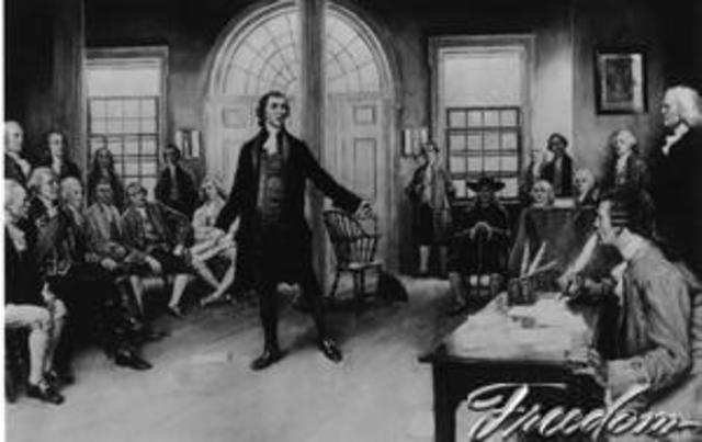 Second Continental Congress.