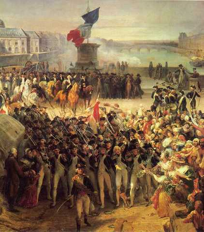 Beginning of the French Revolution