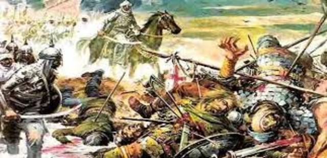 Invasión de la península por Tarik