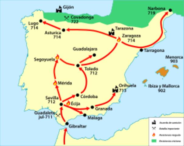 Fin de la conquista de Al-Andalus