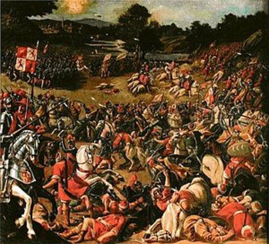 Batalla del Salado (dominio desembocadura del Guadalquivir para evitar la llegadas de invasiones de pueblos del Norte de África)