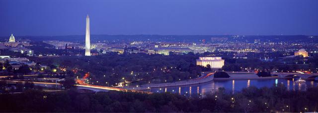 Washington D.C. chosen as the capital