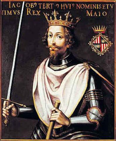 Jaime III invade las islas baleares y el reino de Castilla
