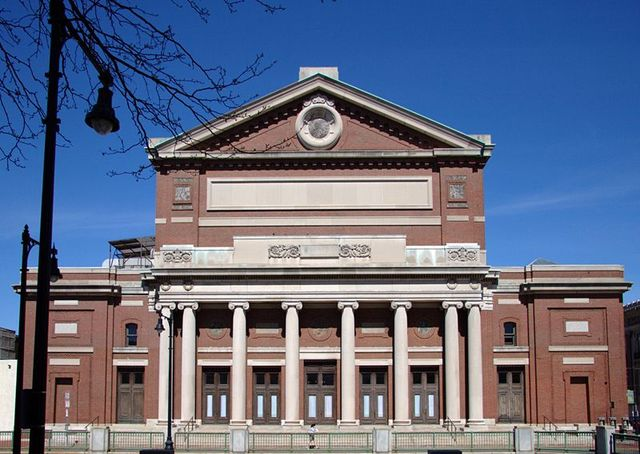 Symphony Hall built in Boston