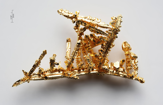 Gold is (presumed) discovered