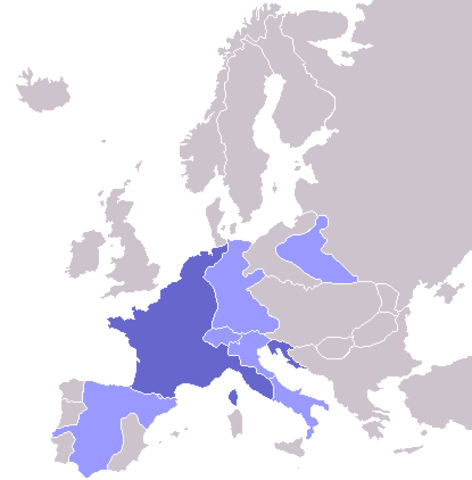French Empire at Its Height