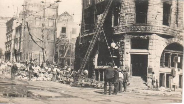 Los Angeles Bombing