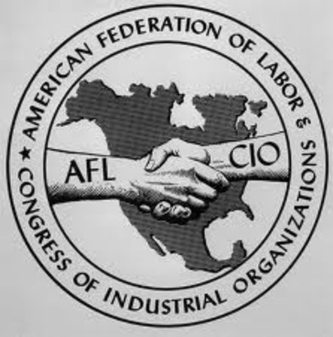 Creation of the American Federation of Labor