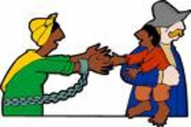 slavery outlawed