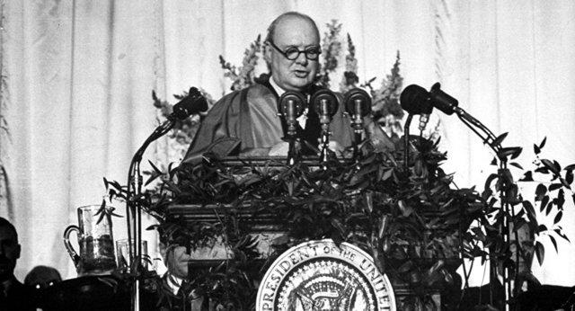 Discours de Fulton en mars 1946