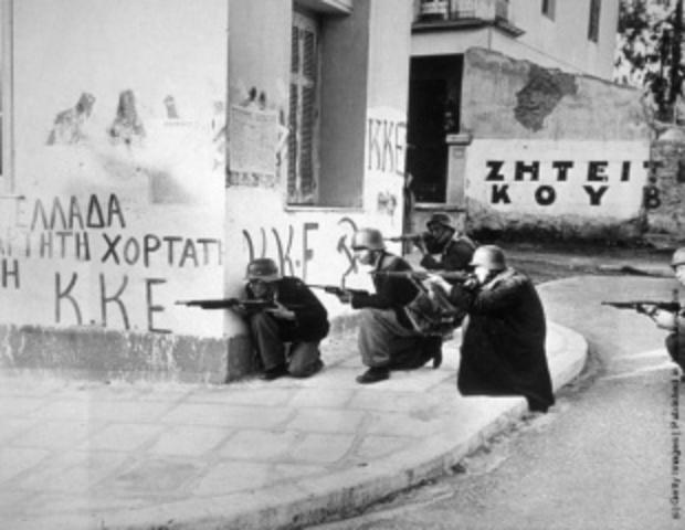 Cas de la Grèce entre 1946 et 1949