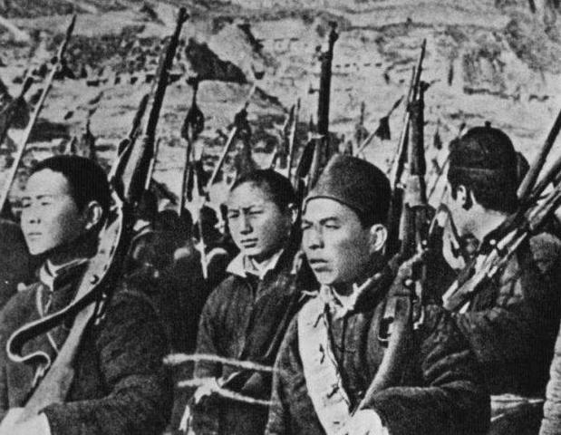 Guerre civile en Chine en 1946