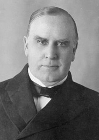 McKinley Re-elected with Roosevelt as VP
