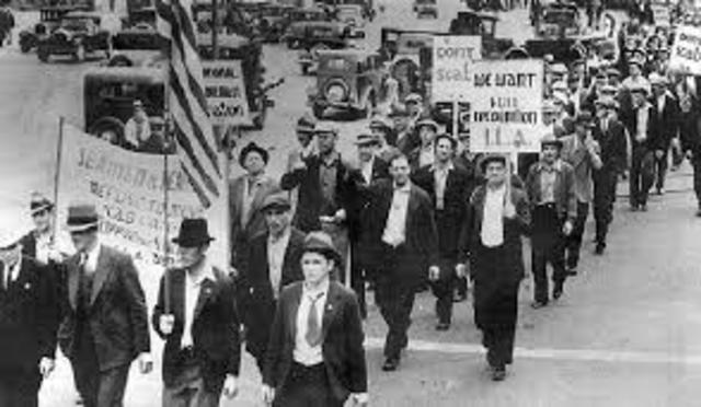 Labor Strikes (Great Railroad Strike 1877, Homestead Act Strike 1892, Pullman strike 1894)