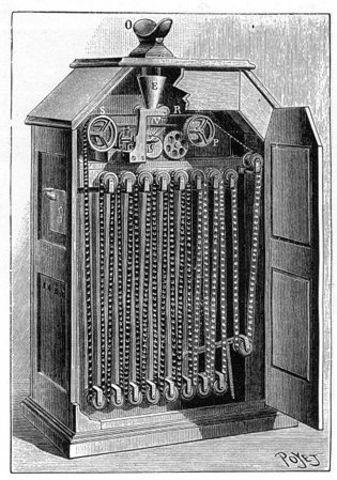 William Kennedy Laurie Dickson develops Kinetoscope
