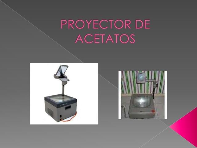 Proyector de acetato