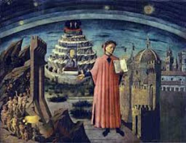 Den gudomliga komedin, Dante