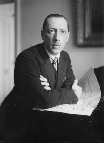 Nacimiento de Ígor Stravinski