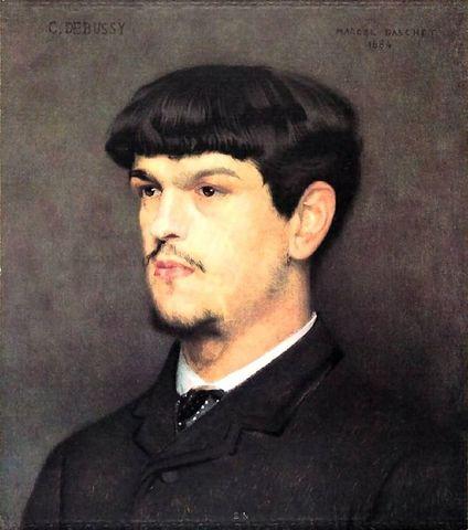 Nacimiento Claude Debussy