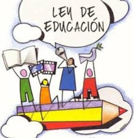 13/11/2007  se decreta la Ley de Educación Especial.