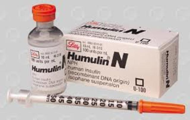 Humulin is the First Biotech drug Approved by the FDA